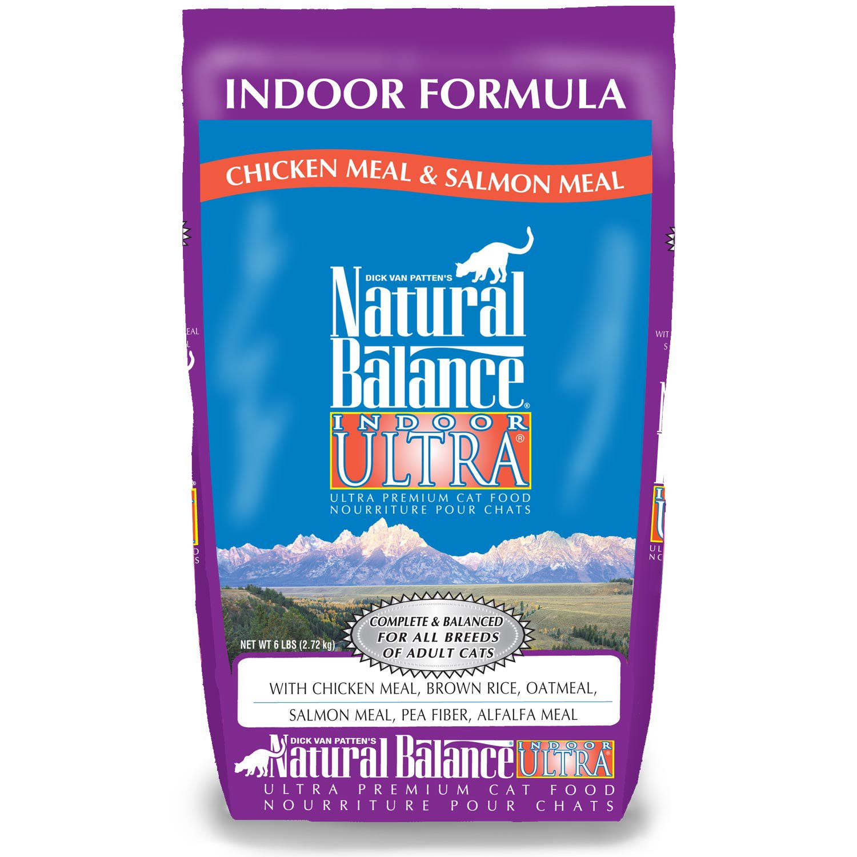 Natural Balance Indoor Ultra Premium Cat Food