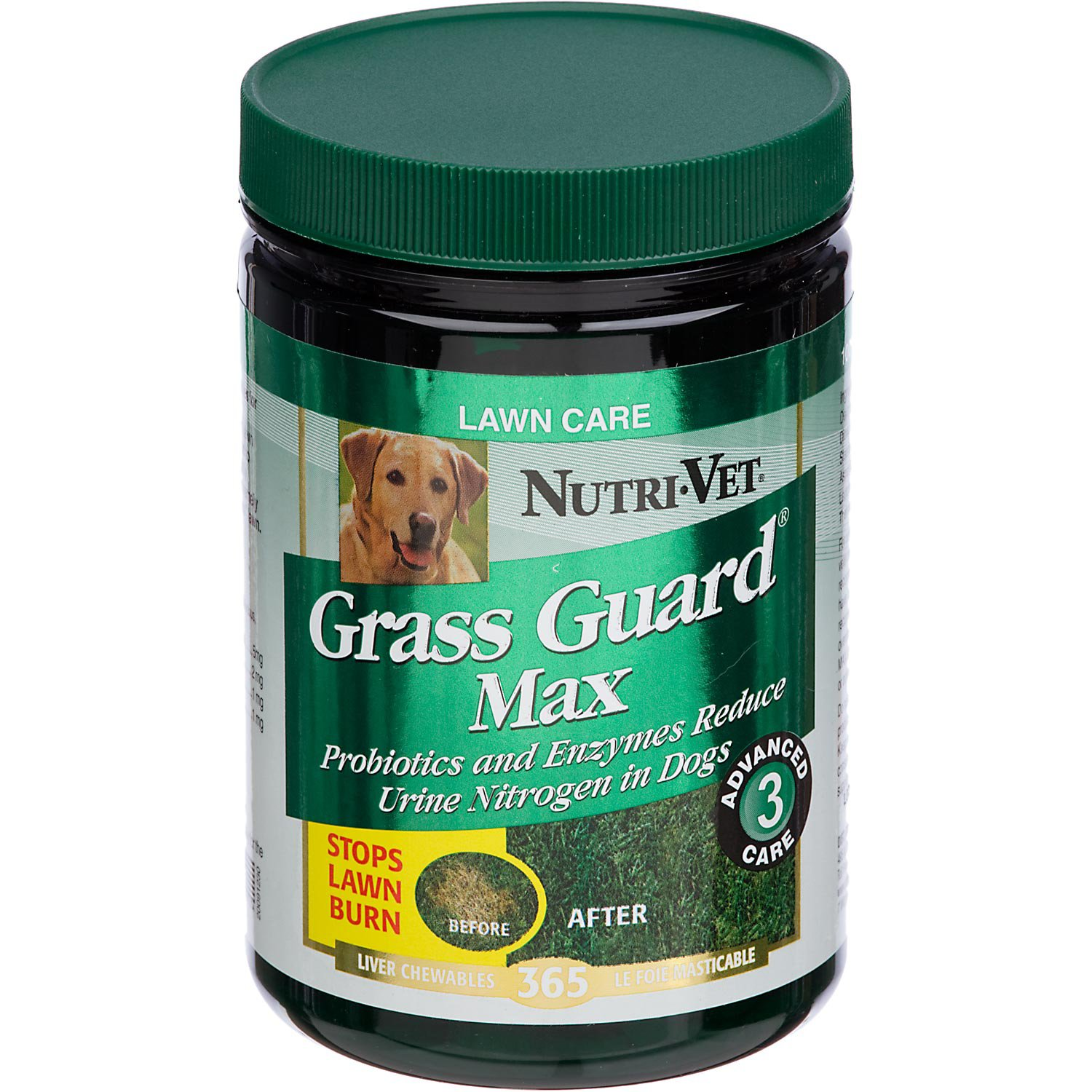 Nutri-Vet Grass Guard Max Liver Flavor Dog Lawn Care Supplement