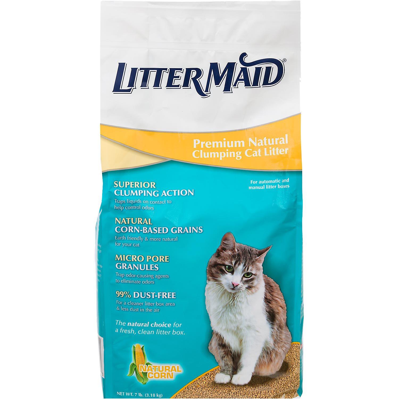LitterMaid Premium Natural Corn Clumping Cat Litter