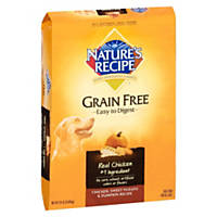 Nature's Recipe Grain-Free Chicken, Sweet Potato & Pumpkin Dry Dog Food