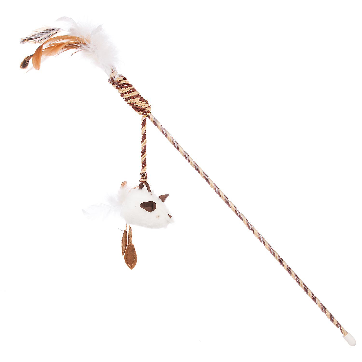 Our pet 39 s play n squeak twinkle teaser wand cat toy petco for Cat wand toys