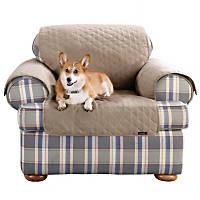 Sure Fit Furniture Friend Linen Color Chair Protector