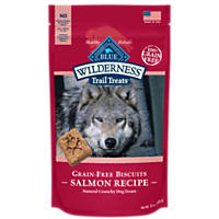 Blue Buffalo Wilderness Trail Treats Grain-Free Salmon Dog Biscuits
