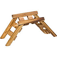Planet Petco Wood Ladder Bridge Small Animal Chew Toy