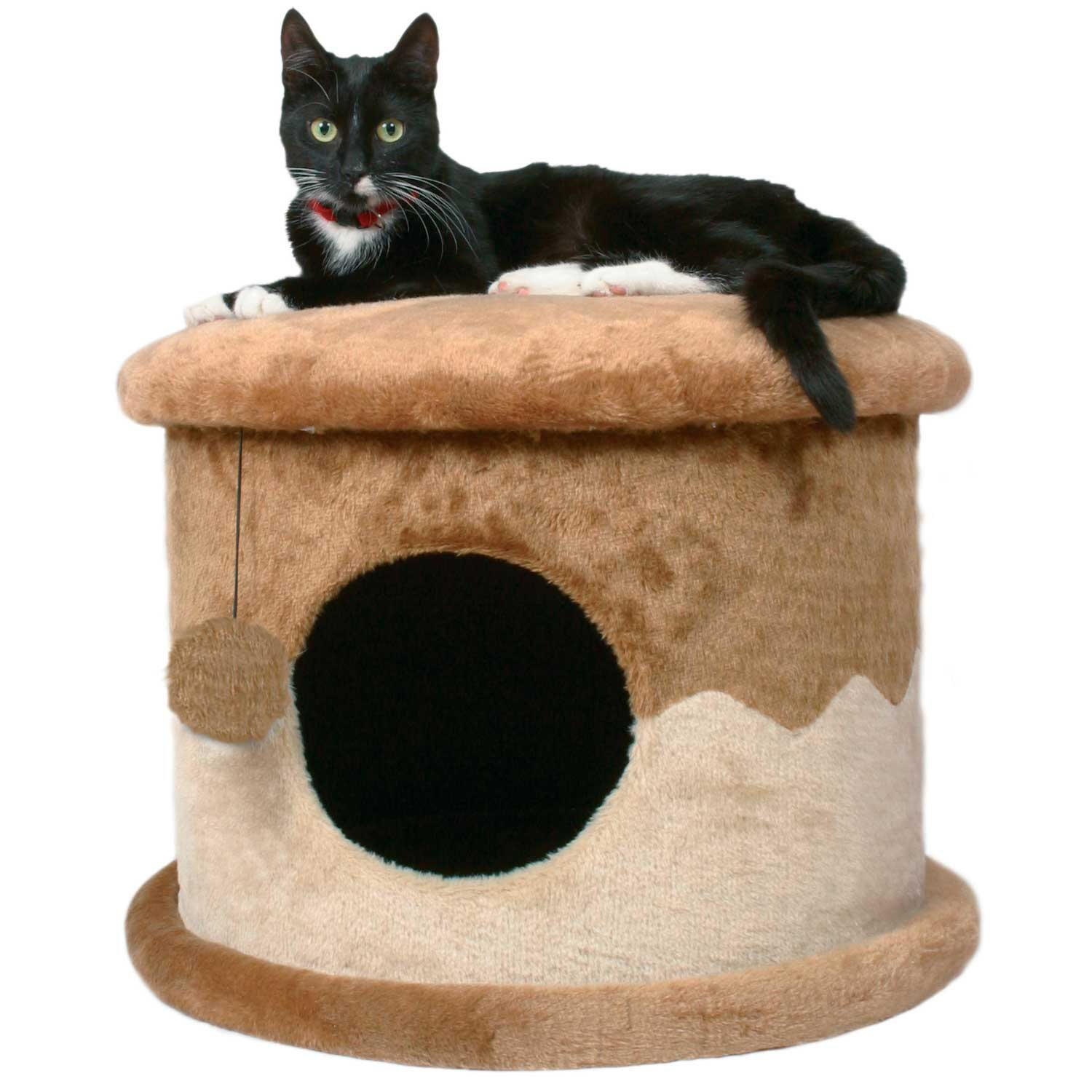 Trixie DreamWorld Plush Cat House