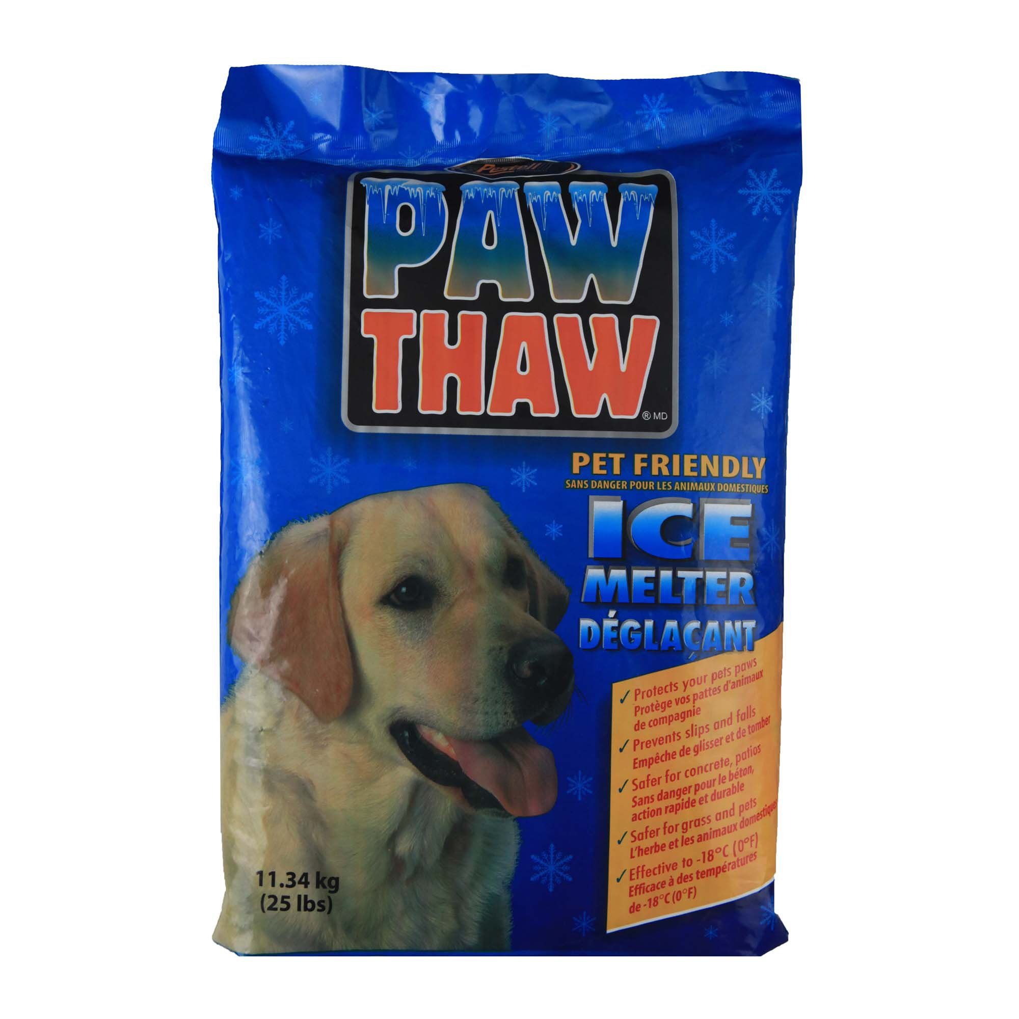 Pestell Paw Thaw Pet Friendly Ice Melter, Bag
