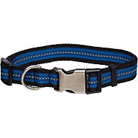 Petco Reflective Adjustable Blue Dog Collar