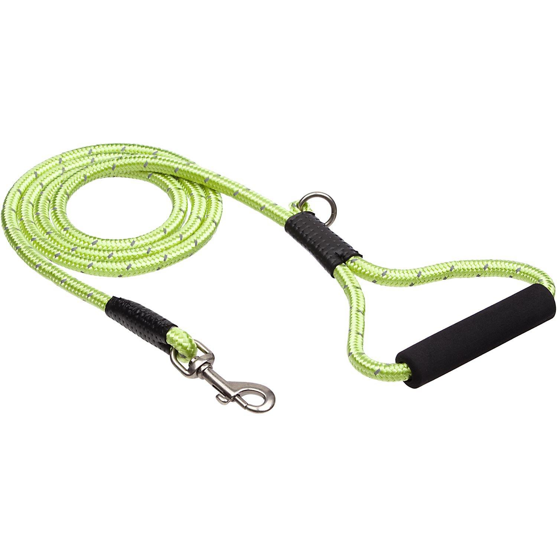 Petco Nylon Reflective Green Dog Lead