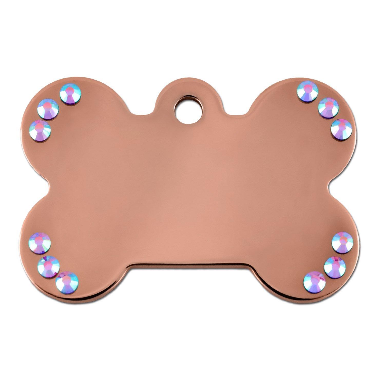 Gold Dog Collar Tags