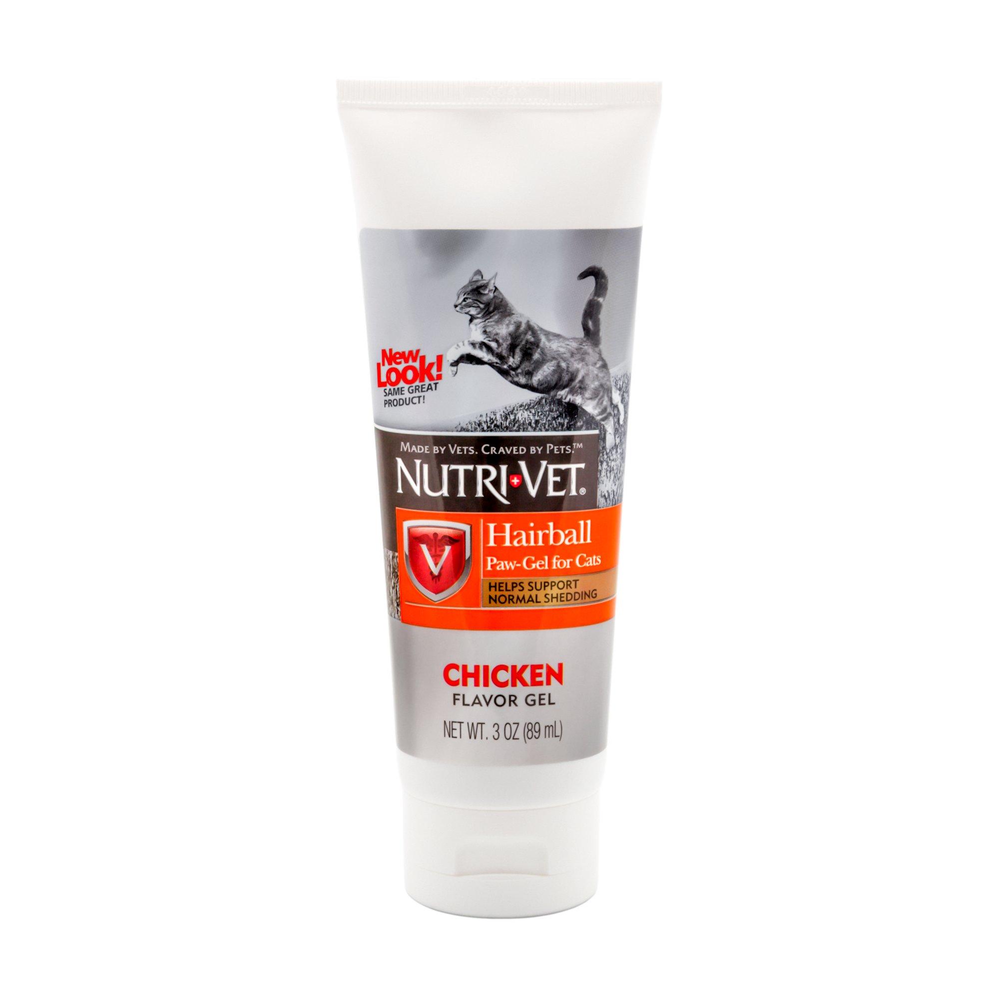Nutri-Vet Hairball Paw-Gel for Cats