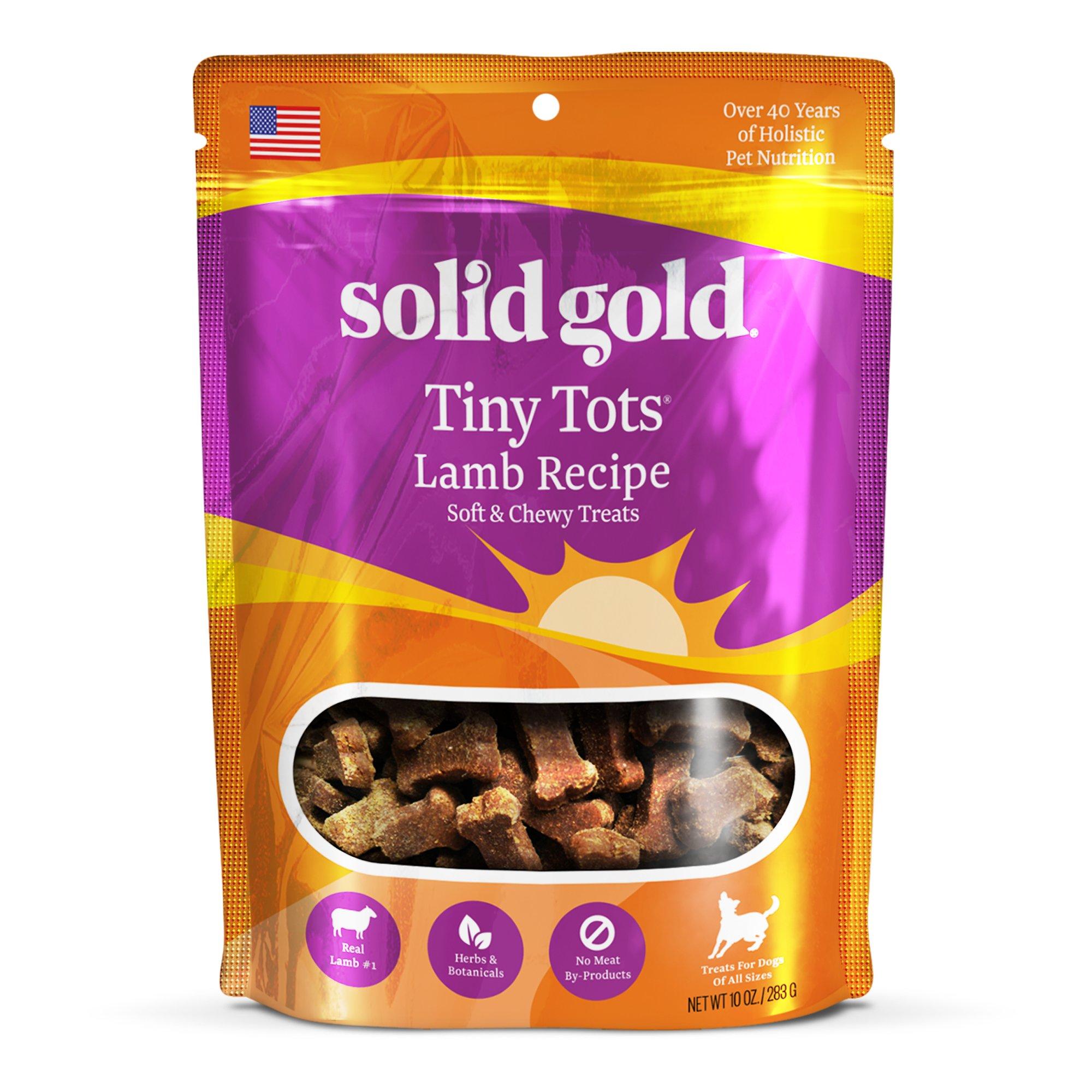 Solid Gold Tiny Tots Jerky Small Dog Treats
