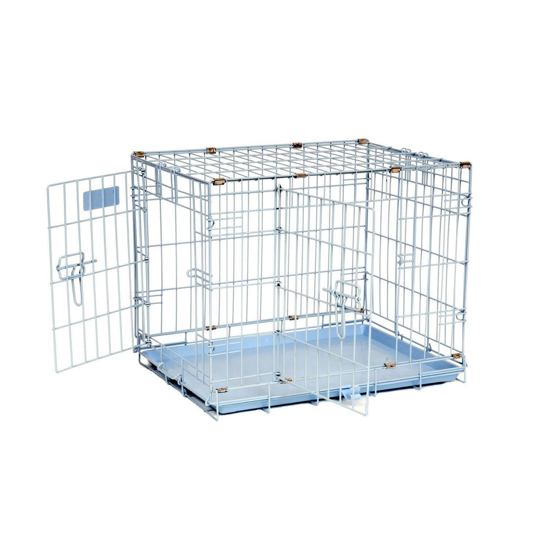 Precision Pet ProValu 2000 Blue 2-Door Dog Crate