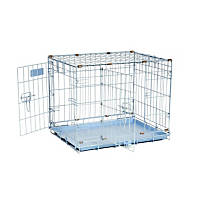 Precision Pet ProValu 2000 Blue 2-Door Dog Crate