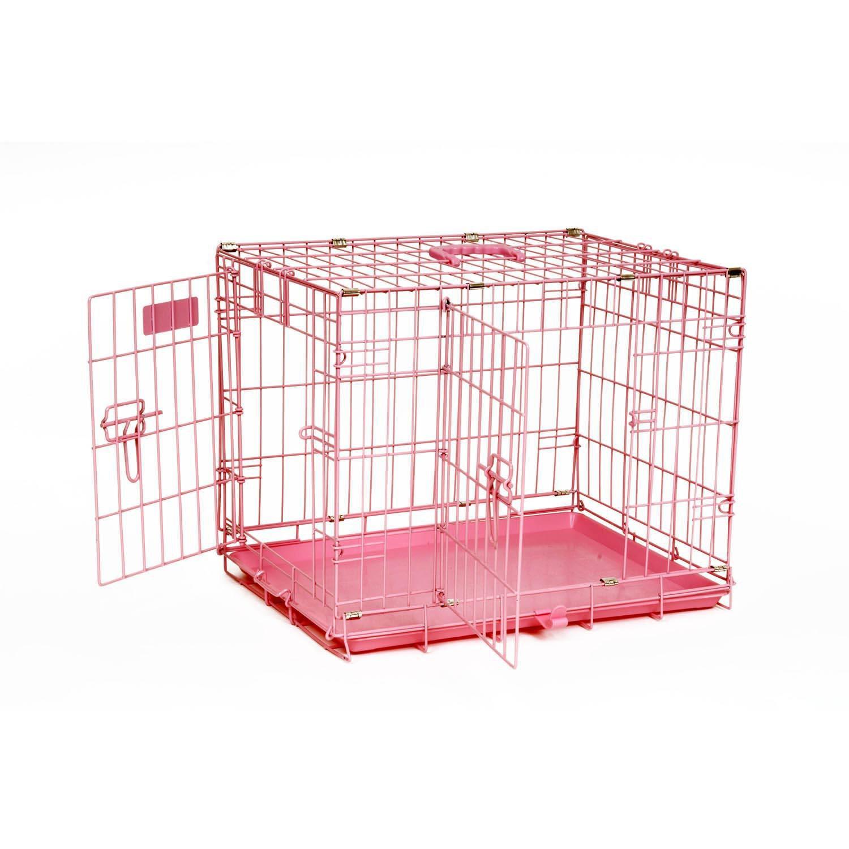 Precision Pet ProValu 2000 Pink 2-Door Dog Crate