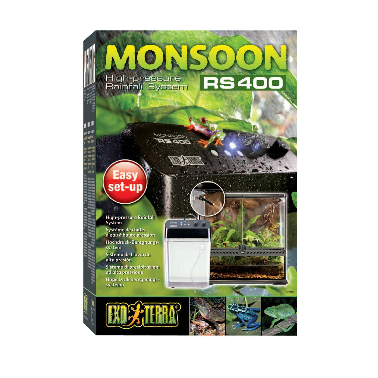 Exo-Terra Monsoon RS400 Rainfall System for Reptiles