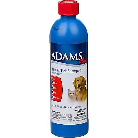 Adams Plus Flea Amp Tick Shampoo With Precor For Dogs And