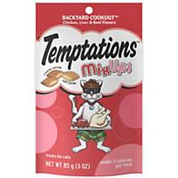 Whiskas Temptations Mix Ups Backyard Cookout Cat Treats