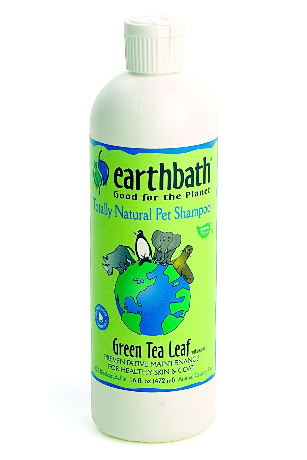 Earthbath Green tea Shampoo