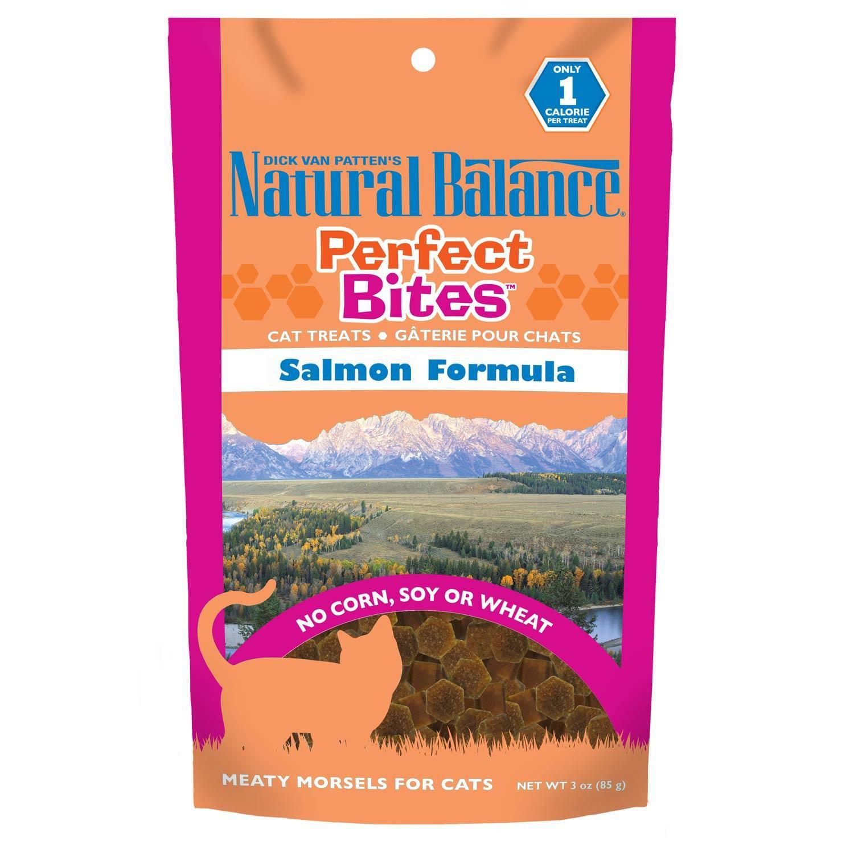 Natural Balance Perfect Bites Salmon Cat Treats