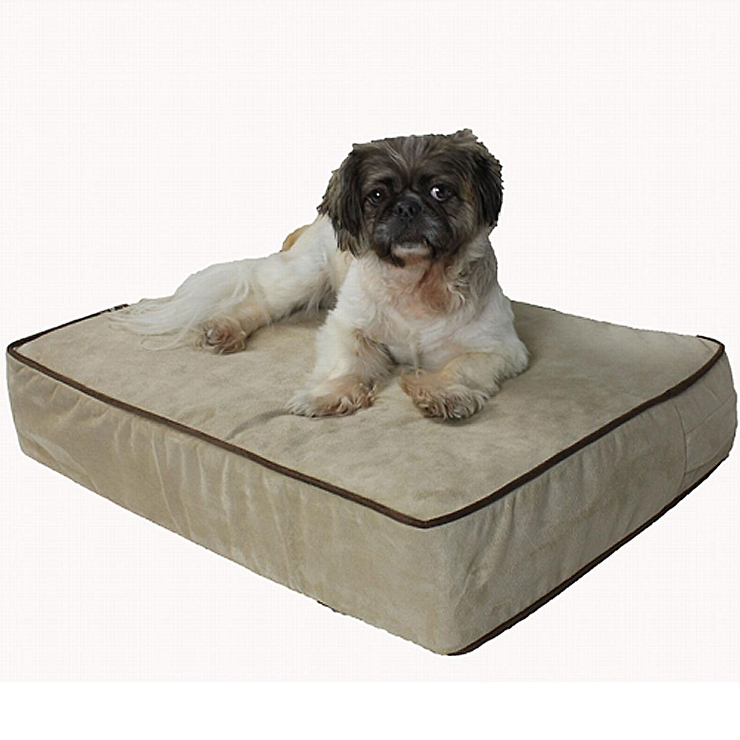 Snoozer Outlast 5 Inch Sleep System Buckskin & Java Dog Bed