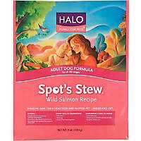 Halo Spot's Stew Salmon Recipe Dog Food
