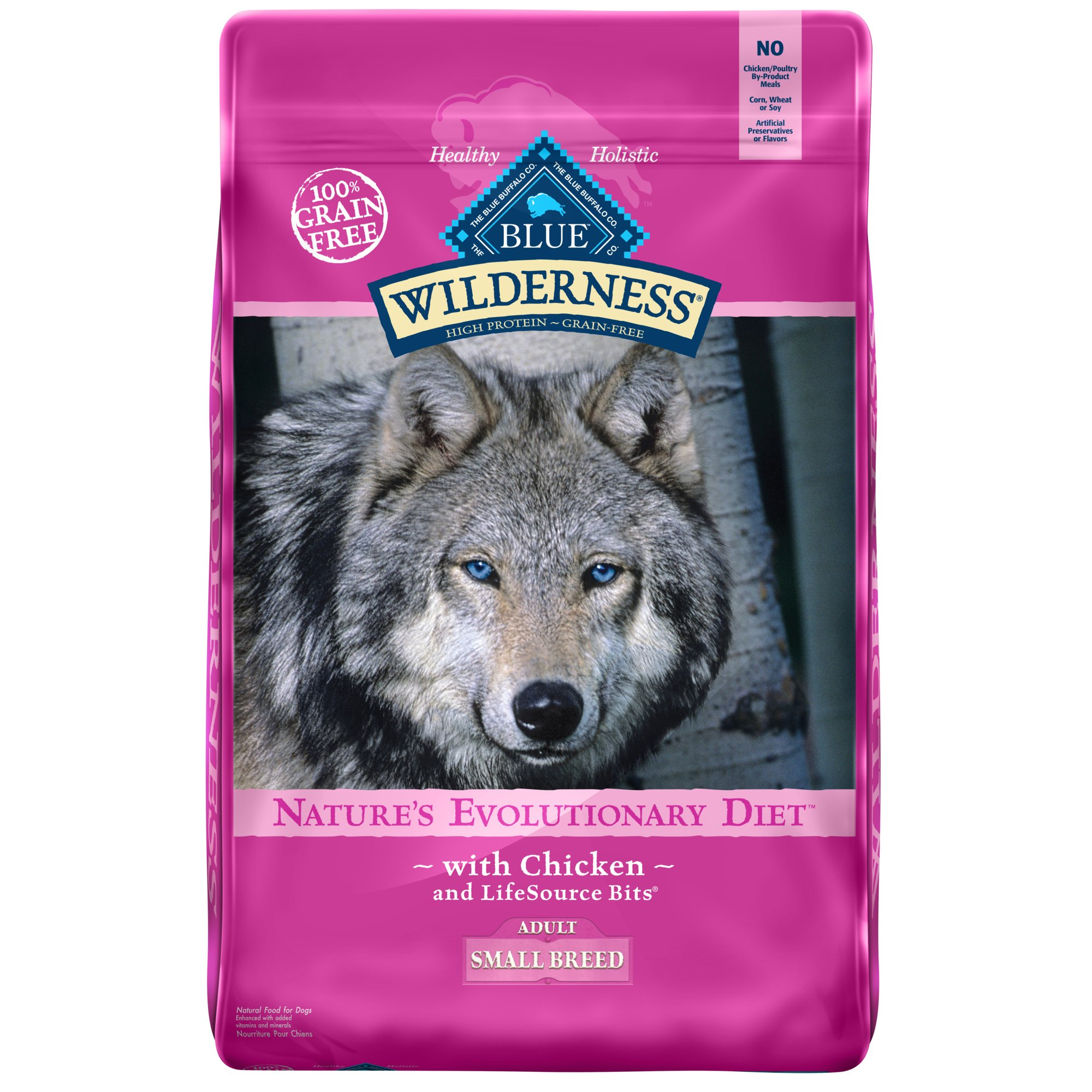 Blue Buffalo Small Breed Wilderness Chicken Adult Dry Dog Food
