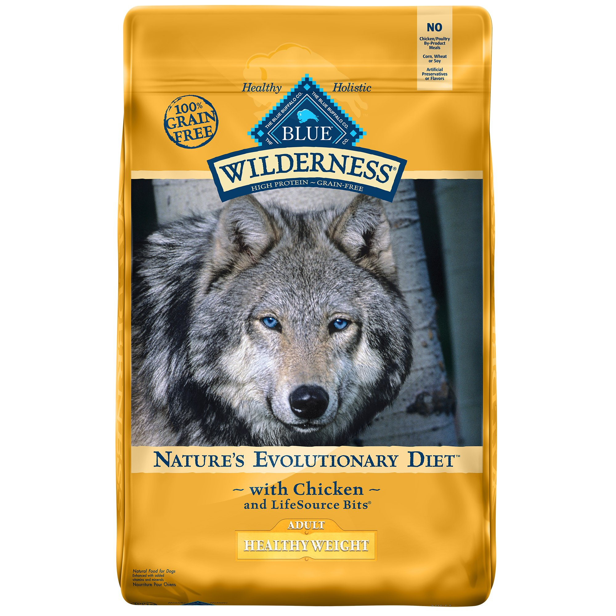 Blue Buffalo Wilderness Healthy Weight Chicken Adult Dry Dog Food