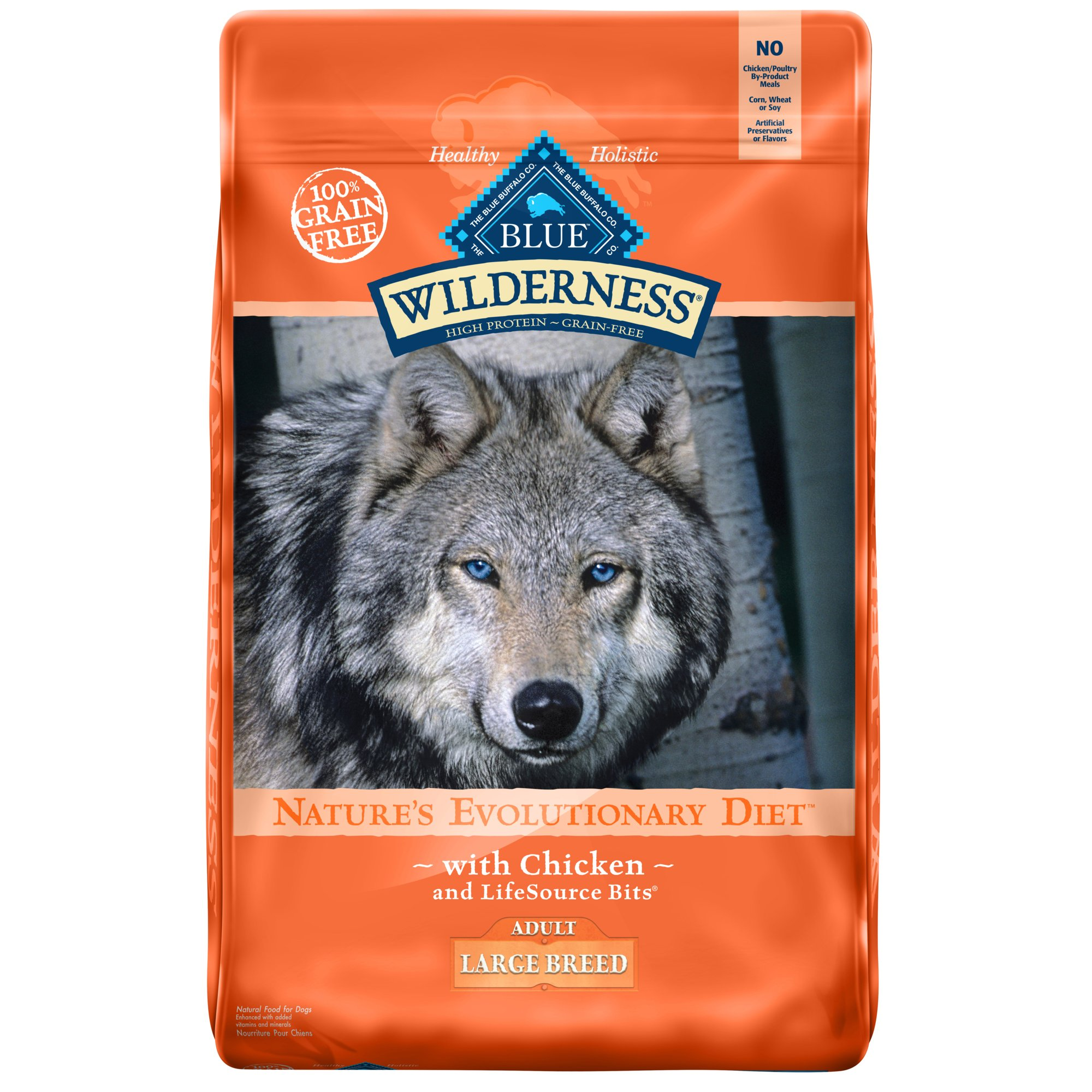 Blue Wilderness Dog Food Adult Large Breed