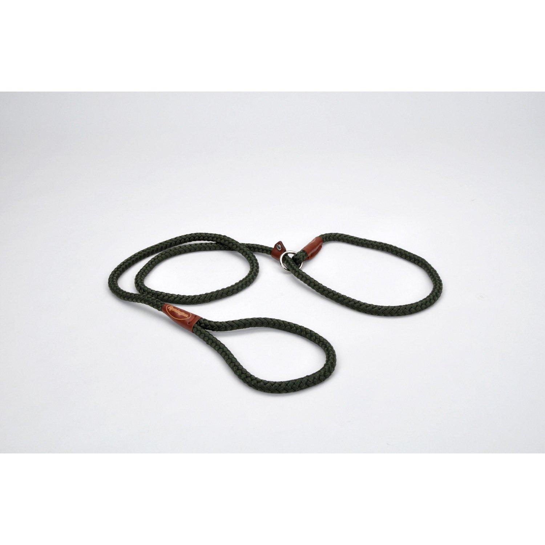 Remington Nylon Rope Slip Leash in Green