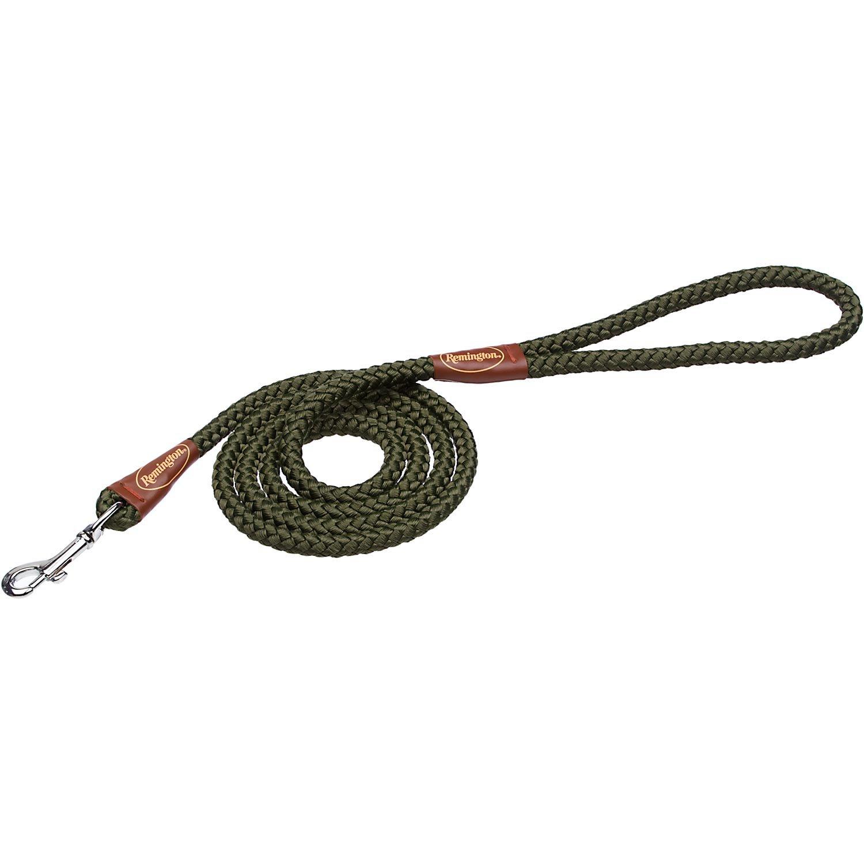 Remington Green Rope Snap Dog Leash