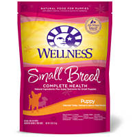 Wellness Small Breed Complete Health Turkey Oatmeal & Salmon Puppy Food