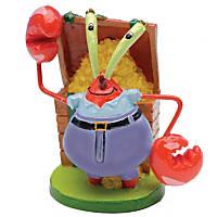 Penn Plax SpongeBob Mr. Krabs Aquarium Ornament