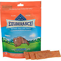 Blue Buffalo Exuberance Natural Chicken Jerky Dog Treats