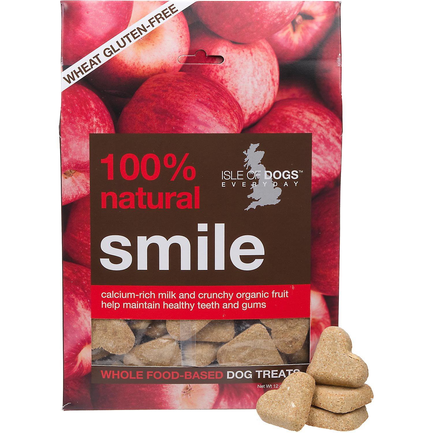 Isle of Dogs Natural Smile Dog Treats