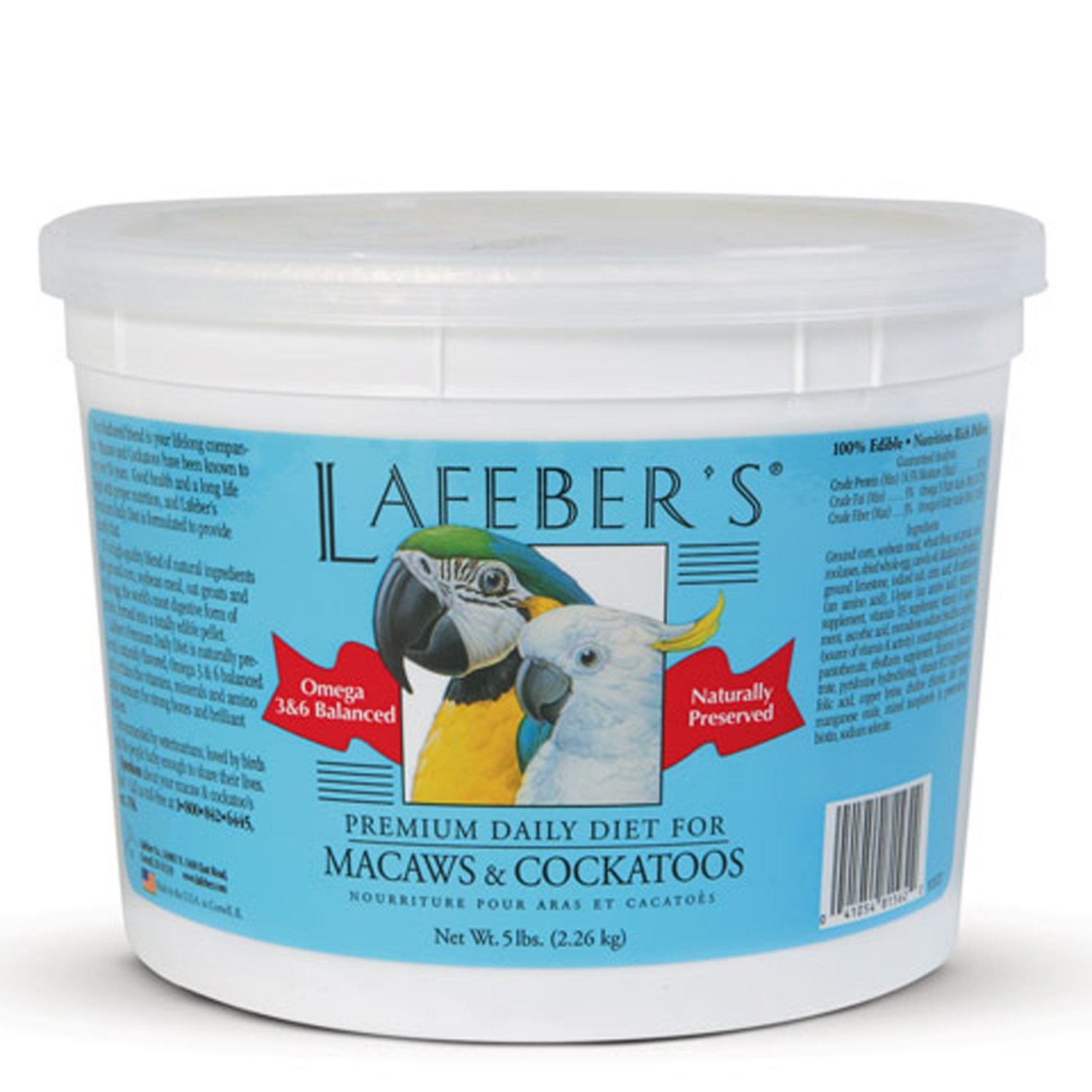 Lafeber's Premium Daily Diet for Macaws and Cockatoos