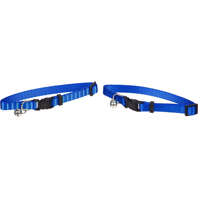 Good2Go Blue Cat Collar, 2-Pack