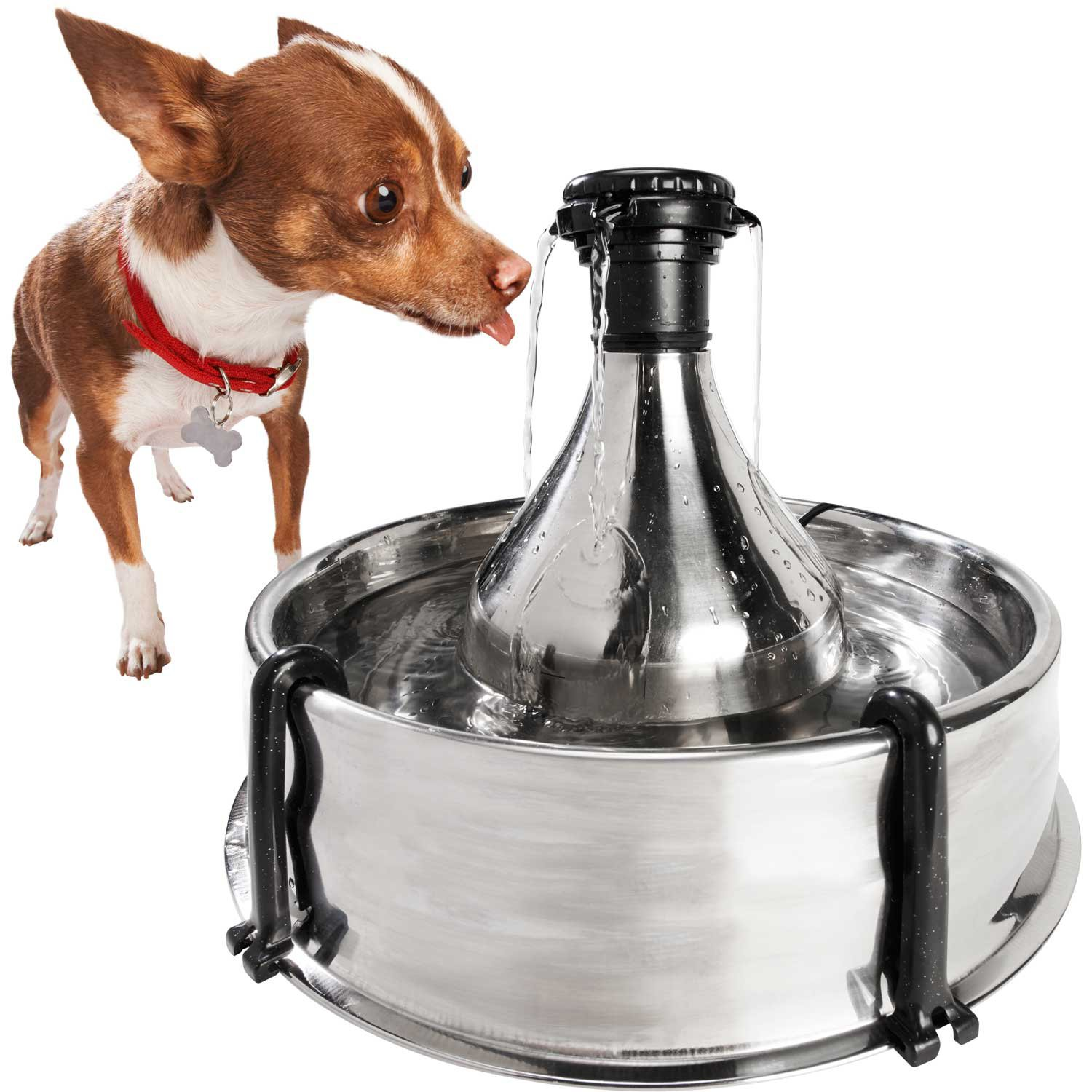PetSafe Drinkwell 360 Multi-Pet Stainless Steel Fountain