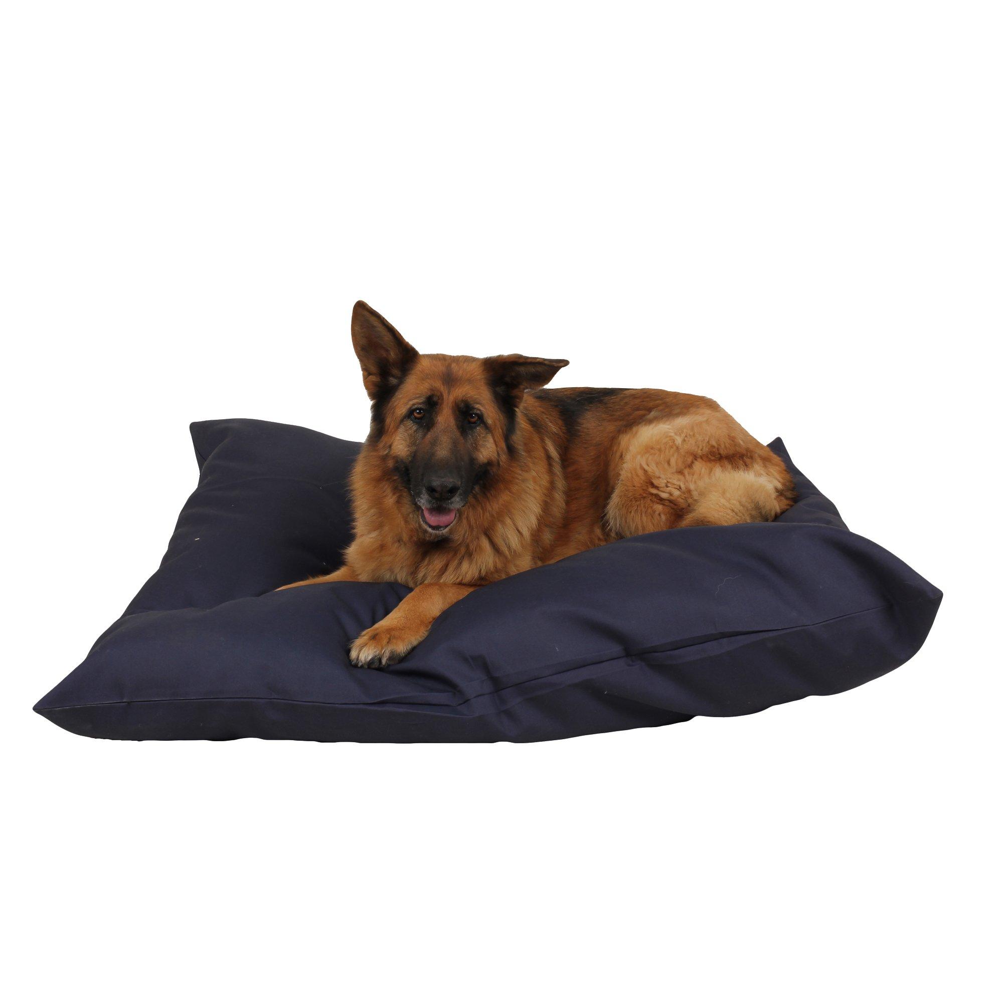 Carolina Pet Company Blue Indoor Outdoor Shebang Dog Bed