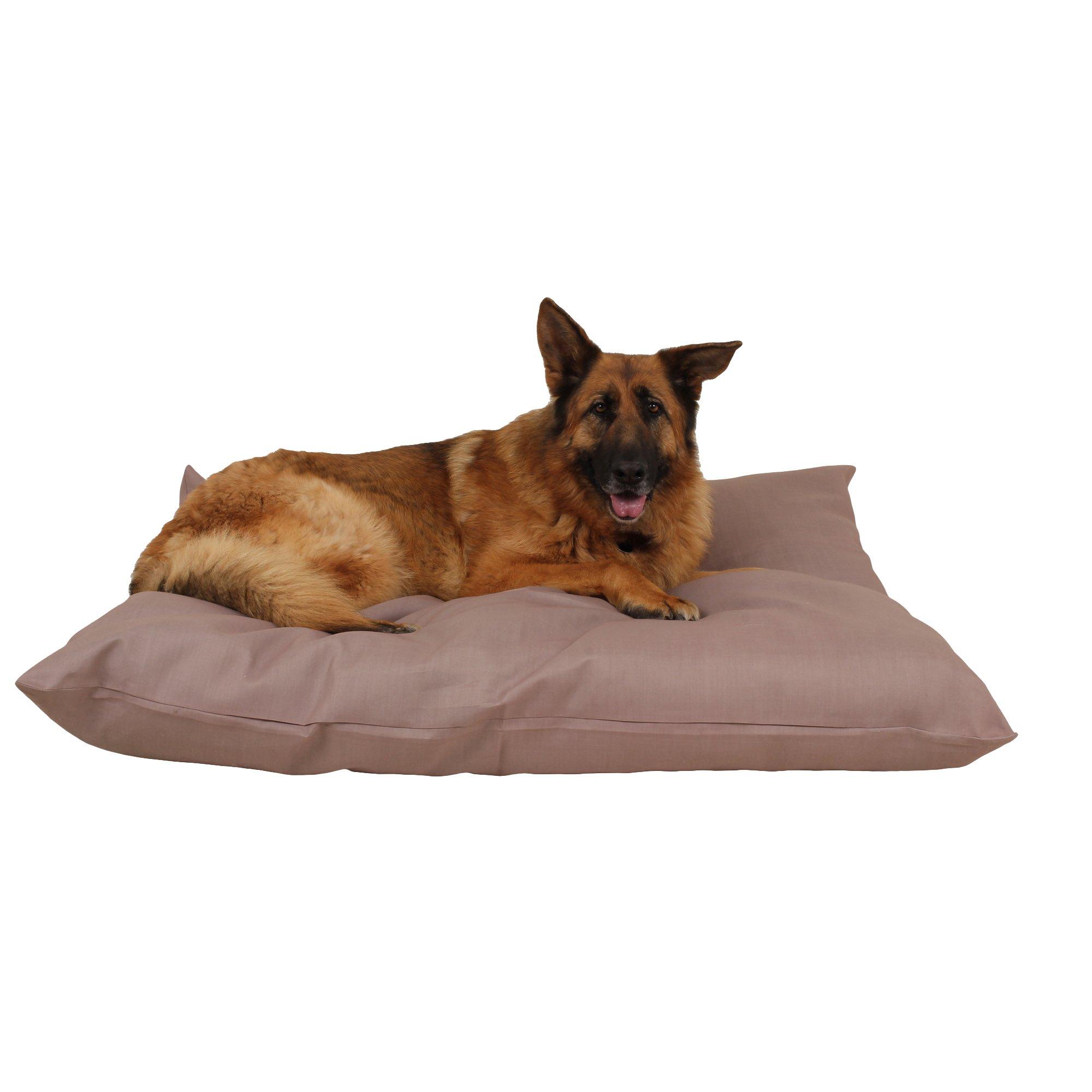 Carolina Pet Company Tan Indoor Outdoor Shebang Dog Bed