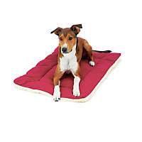 Pet Dreams Classic Sleep-eez Burgundy Reversible Dog Crate Pad