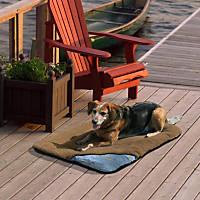 Kurgo Wander Brown Travel Dog Bed