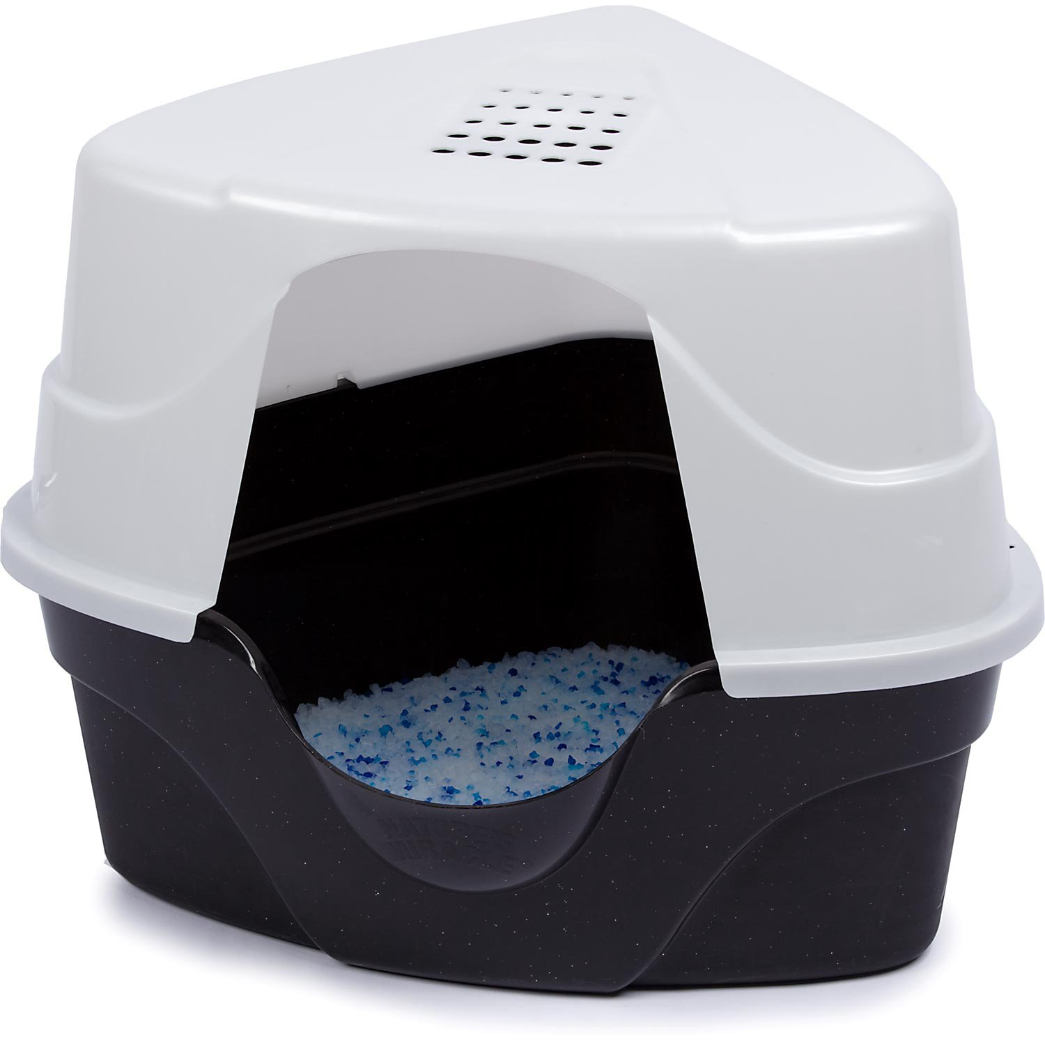 Nature S Miracle Advanced Corner Hooded Cat Litter Box Petco