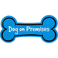 Hillman Sign Center -- Dog on Premises