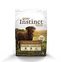 Nature's Variety Instinct Grain-Free Duck & Turkey Meal Dog Food