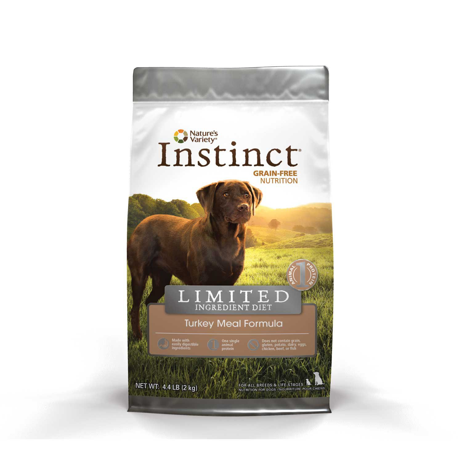 Nature's Variety Instinct Grain-Free Limited Ingredient Diet Turkey Meal Formula Dry Dog Food