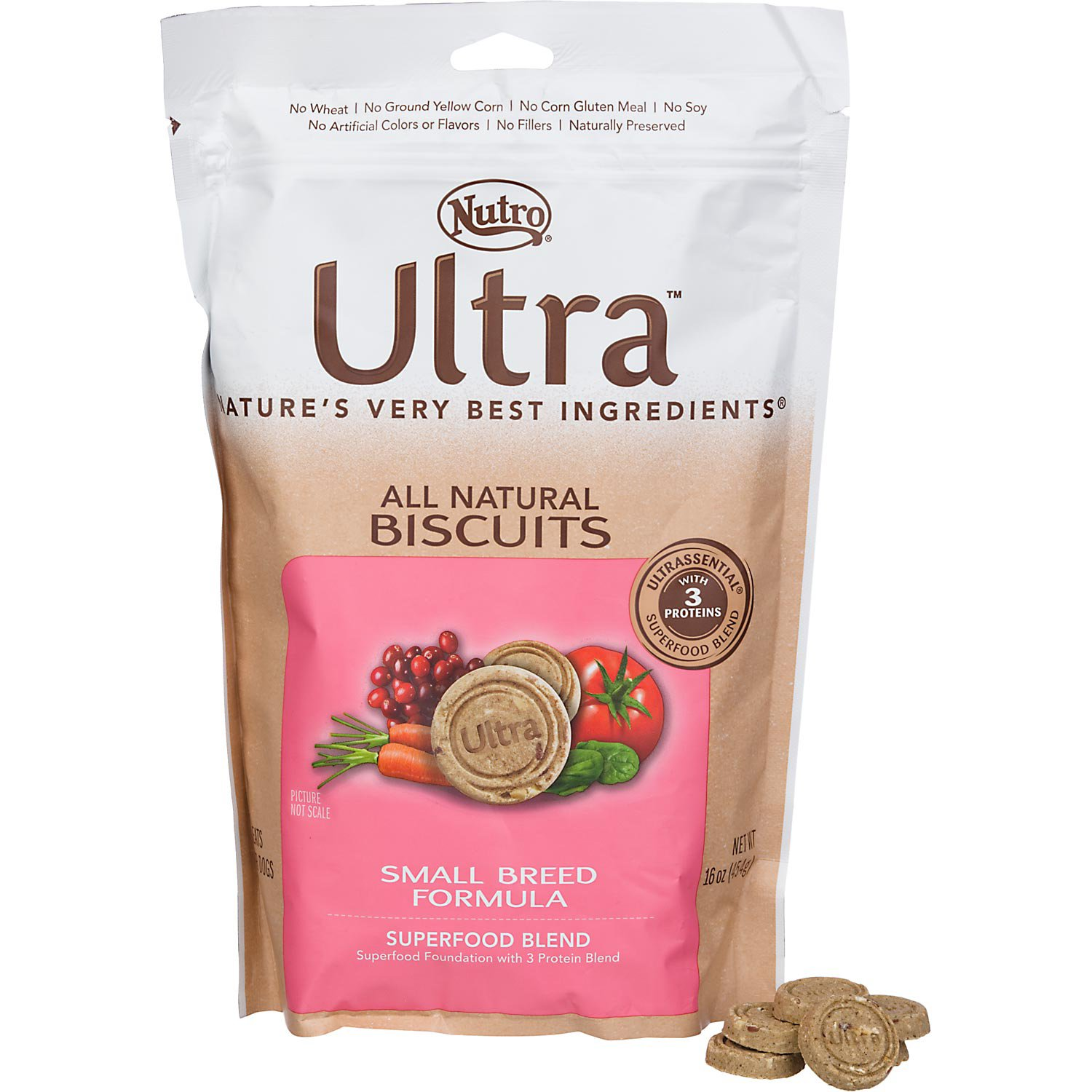 Nutro Ultra Small Breed Adult Dog Biscuits