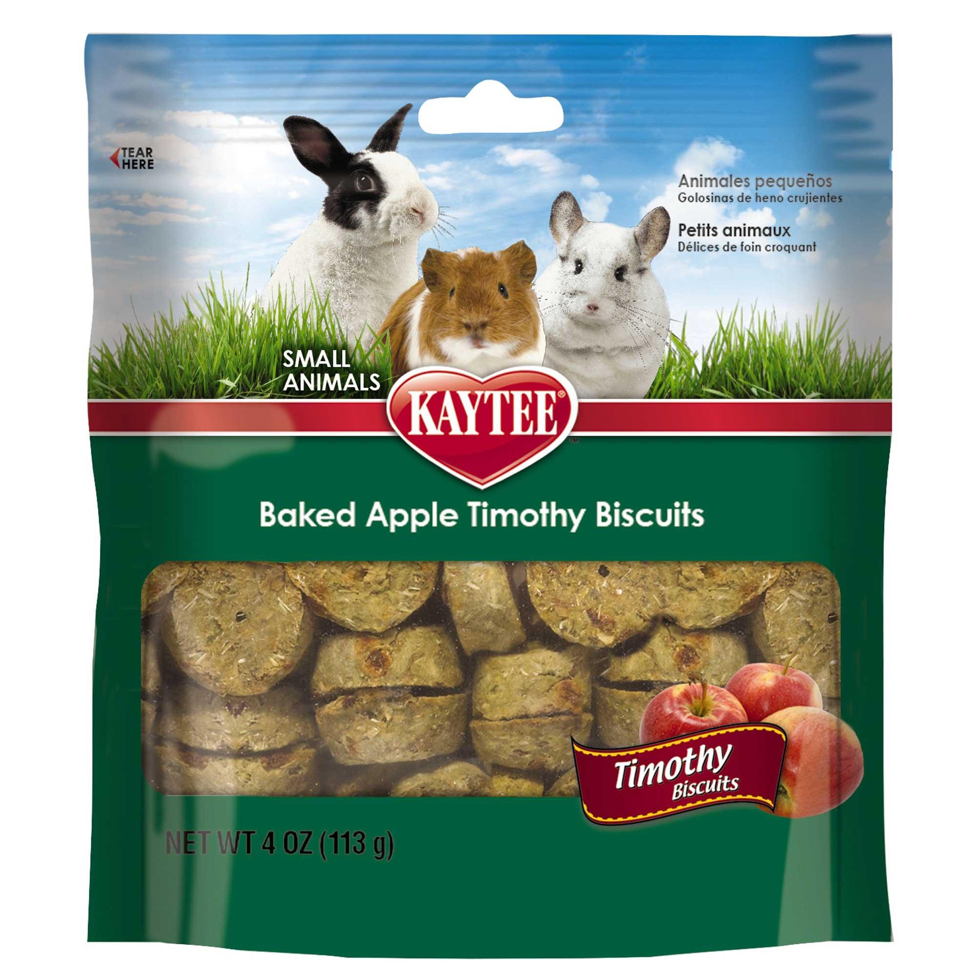 Kaytee Timothy Hay Baked Apple Small Animal Treats