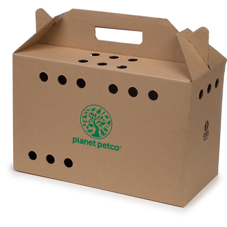 Planet Petco Cardboard Cat Carrier