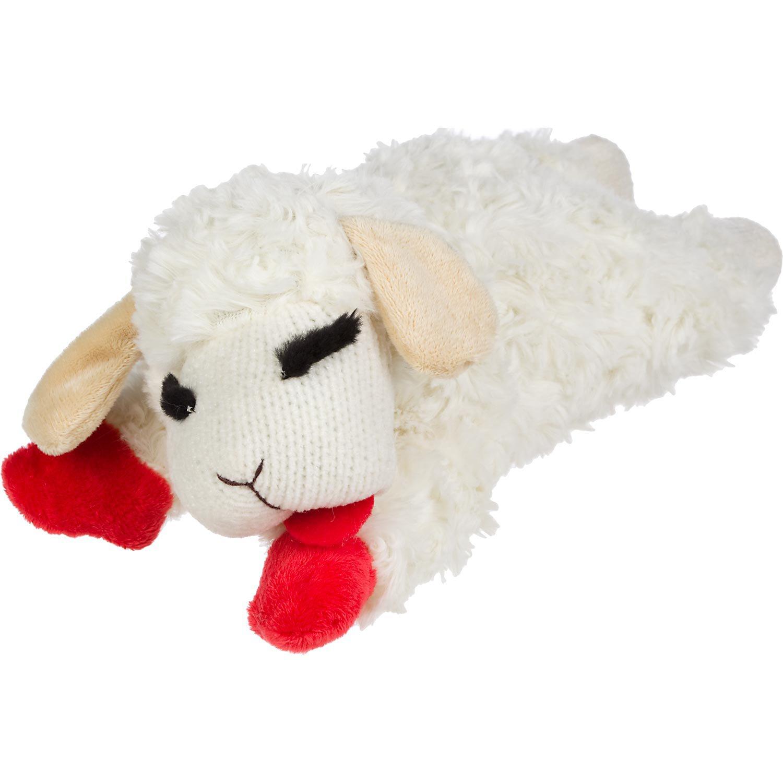 Lamb Chop Dog Toy Small