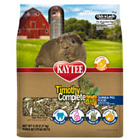 Kaytee Timothy Complete Plus Flowers & Herbs Guinea Pig Food